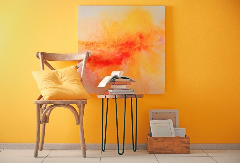 Amarelo dourado é tendência na decoração